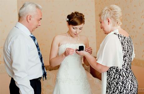 Ответы на свадьбу родителям