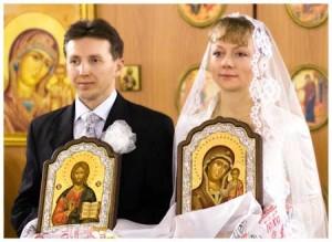 Икона на свадьбу молодоженам
