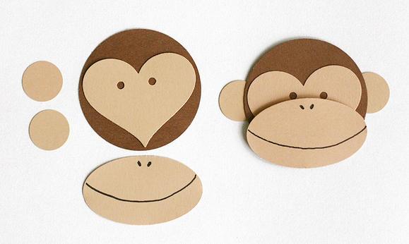обезьяна своими руками фото на новый год