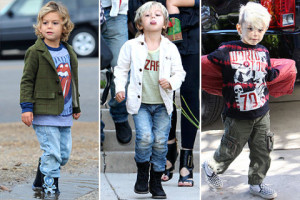 Gwen Stefani And Her Boys Have Thanksgiving With The Stefani Family!